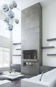 fireplace stone wall tiles surround feature brick living room
