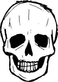 pumpkin face svg 8 skull drawing vector svg png transparent onlygfx com