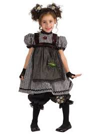 Scary Dolls Costumes Halloween Girls Damaged Doll Costume Party Varissa Party