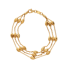 bracelet chain gold images Ladies essentials 18kt yellow gold chain bracelet links of london jpg