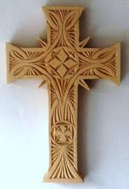 wooden celtic cross wood carving cross patterns