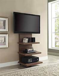 Walnut Ladder Bookcase Ladder Shelf Tv Stand Amiphi Info