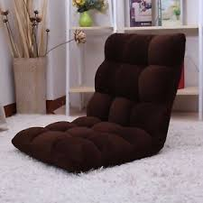 tatami folding sofa chair floor lounger five position gaming home