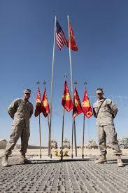 Flag Corps Deployed U S Marines Keep Patriotism High In Afghanistan U003e 1st
