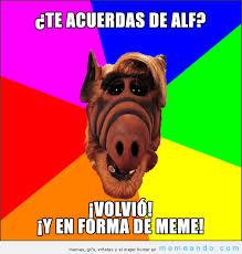 Alf Meme - alf meme memeando com