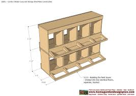 home garden plans cb210 combo plans chicken coop plans floor plans
