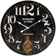 home design store nz black white paris clock the design store nz
