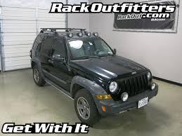 2006 black jeep liberty jeep liberty rockymounts flagstaff black ouray roof rack 02 07