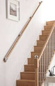 Banister Wall Wall Mounted Handrails For Staircases Uk Delivery 2017