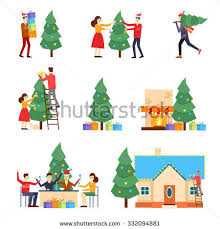 Decorations For Under Christmas Tree by Gifts Under The Tree Stock Images Royalty Free Images U0026 Vectors