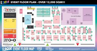 afa2014 main stage schedule floor plan u0026 sword art online