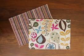 how to make sided placemats karin studio