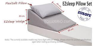 manage reflux u0026 more ezsleep wedge pillow equanimo