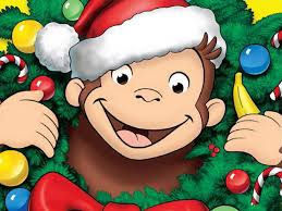 merry christmas curious george style
