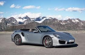porsche 911 turbo silver 194 850 porsche 911 turbo s cabriolet coming to la auto
