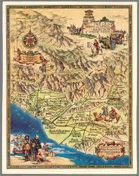 ventura county map the and ranchos of ventura county david
