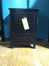stunning black nightstand with drawers yaletown tall black 3