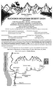 Parker Arizona Map by Desert Dash Rotary Club Of Parker