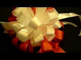 big bow for car present beautiful ribbon bow gift tutorial