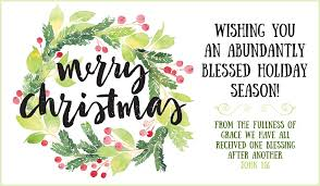 merry abundantly blessed ecard free cards