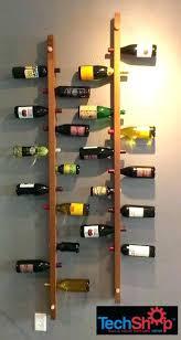 diy diamond wine rack plans wooden wall mounted wood target racks
