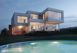 furniture magnificient minimalist house with glass wall design