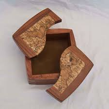 Small Woodworking Projects For Gifts by Four Examples Of A Handmade Decorative Keepsake Box With The Lids