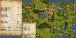 Pirates Map Evil J Adventure Guides