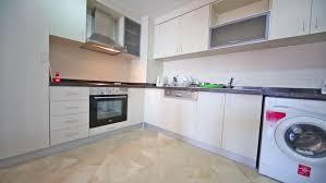Washing Machine In Kitchen Design New Modern Kitchen With Washing Machine And Suspended Closets