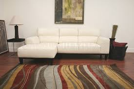 L Shaped Sectional Sofa Leather Contemporary L Shaped Sectional Sofa W High Back