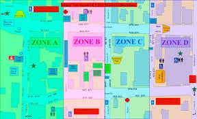 Festival Map Blacksburg Steppin Out Festival Map
