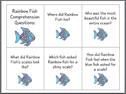 bunch ideas rainbow fish worksheets free template sample