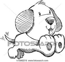 clipart of puppy dog sketch doodle vector art k13562215 search