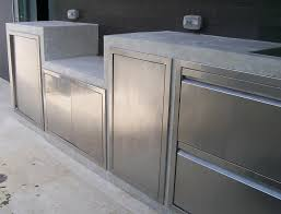 outdoor kitchen stainless steel cabinets new ideas mid sized