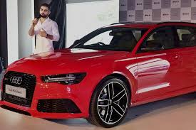 audi rs price in india virat kohli launches audi rs6 avant priced at rs 1 35 cr the