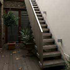 Outside Stairs Design | exterior design narrow outside metal stair design how to build