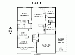 house plans single level simple one 3 bedroom house plans nrtradiant com