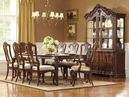 formal wood dining table remarkable room solid furniture cherry