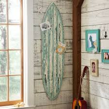 rustic surfboard wall decor pbteen we heart it beach white
