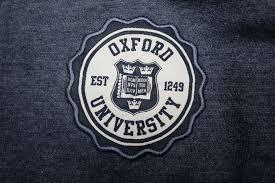Melange Oxford University Hoodie American Apparel Style White Zip