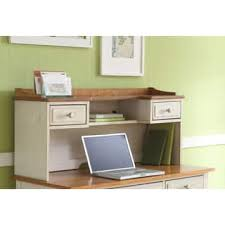Narrow Computer Desk With Hutch Hutch Desk For Less Overstock Com