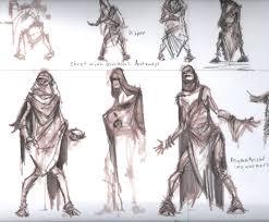 beggar rough sketch video games artwork