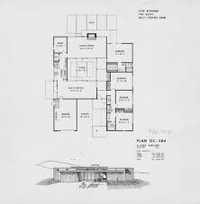 Brady Bunch House Floor Plan by Eichler Archives Eichlersocaleichlersocal