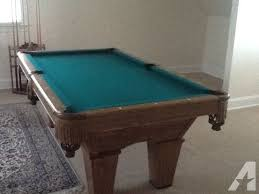 brunswick bristol 2 pool table brunswick contender pool table with 2 darafeev chairs for sale in