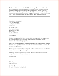 complimentary close business letter the letter sample