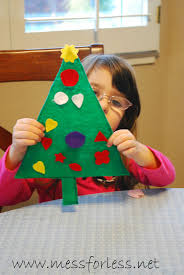 christmas tree math game mess for less
