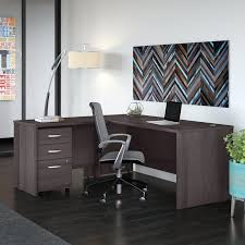 bush business furniture studio c 3 piece l shaped desk office