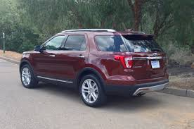 ford explorer trunk space 2016 ford explorer reviews and rating motor trend