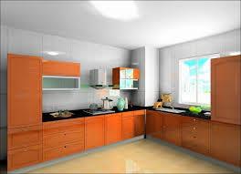 Wood Grain Laminate Cabinets High Gloss Kitchen Cabinets Selling Handle Free High Gloss