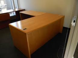 L Shaped Desk With Left Return Office Liquidations L Shape Office Furniture Nyc